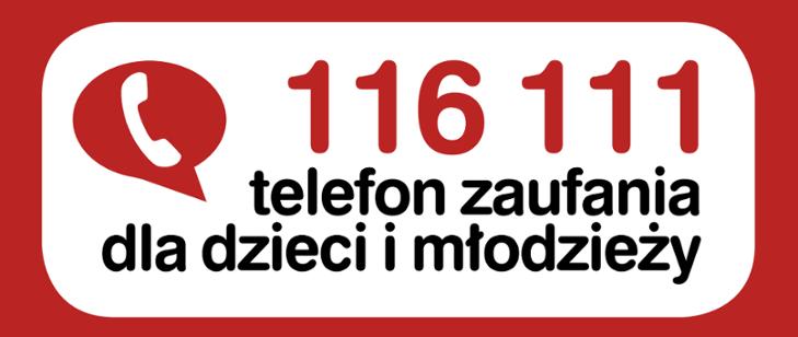 116 111 - Telefon zaufania dla Dzieci iMłodzieży - Stare Babice
